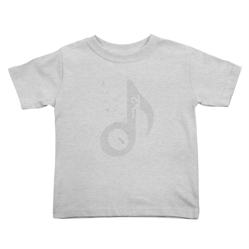 Musical - Cymbals Kids Toddler T-Shirt by barmalisiRTB