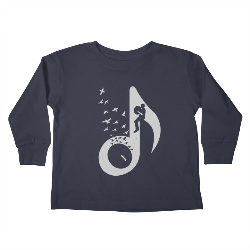 Musical - Cymbals Kids Toddler Longsleeve T-Shirt by barmalisiRTB