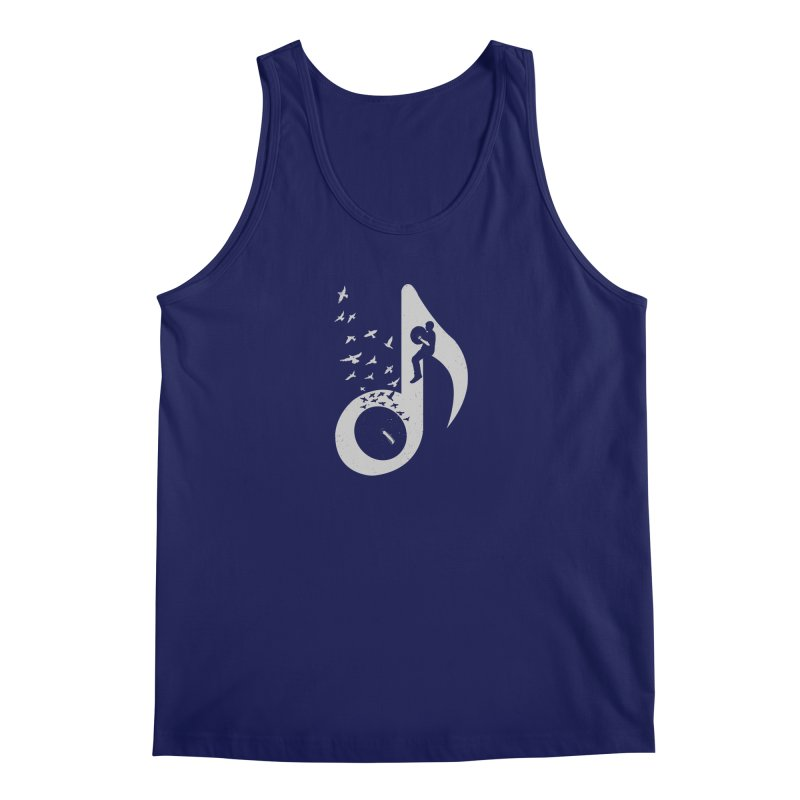 Musical - Cymbals Men's Tank by barmalisiRTB
