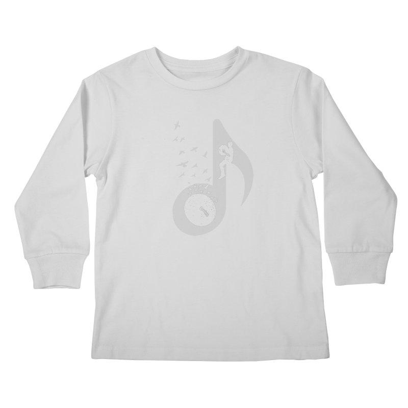 Musical - Cymbals Kids Longsleeve T-Shirt by barmalisiRTB