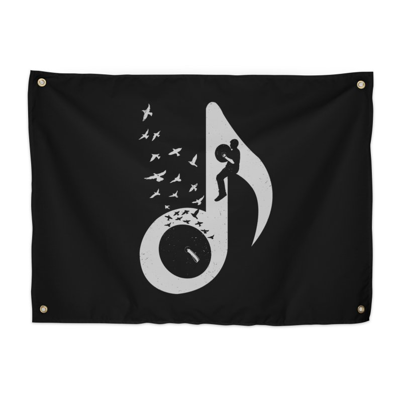 Musical - Cymbals Home Tapestry by barmalisiRTB