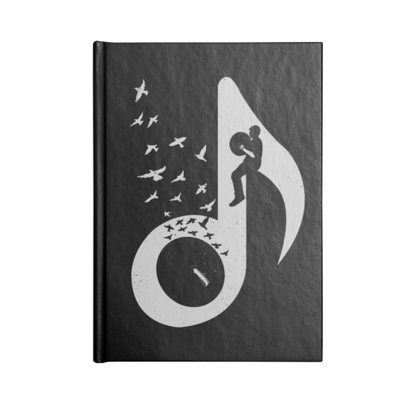 Musical - Cymbals Accessories Notebook by barmalisiRTB