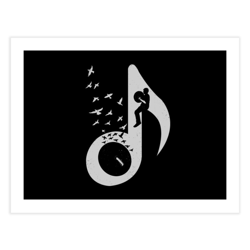 Musical - Cymbals Home Fine Art Print by barmalisiRTB
