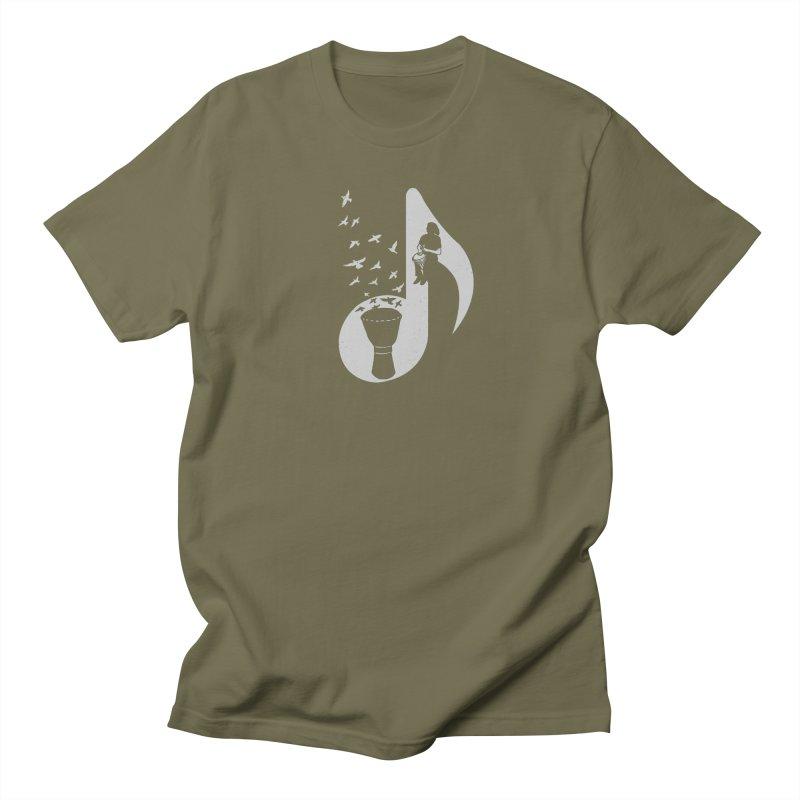 Musical - Djembe Men's T-shirt by barmalisiRTB