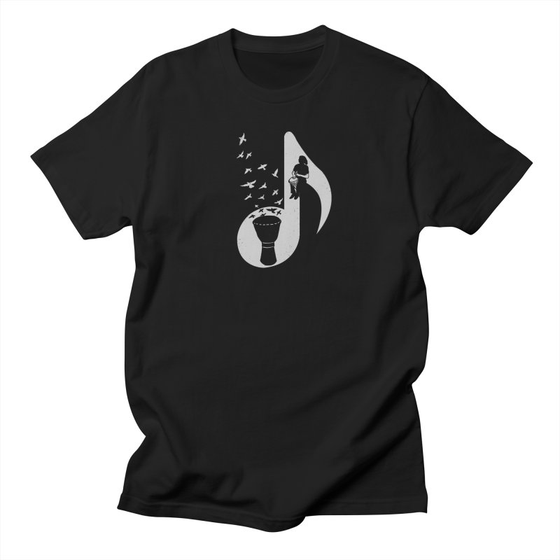 Musical - Djembe Men's T-shirt by barmalisiRTB