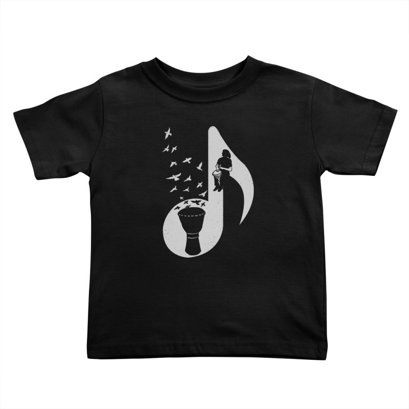 Musical - Djembe Kids Toddler T-Shirt by barmalisiRTB