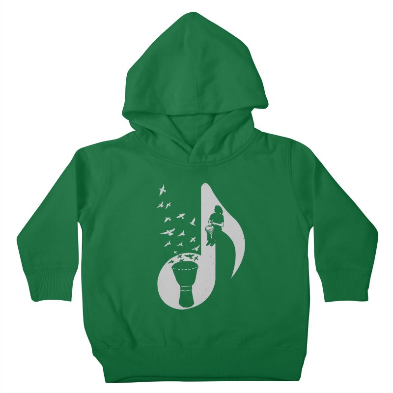 Musical - Djembe Kids Toddler Pullover Hoody by barmalisiRTB