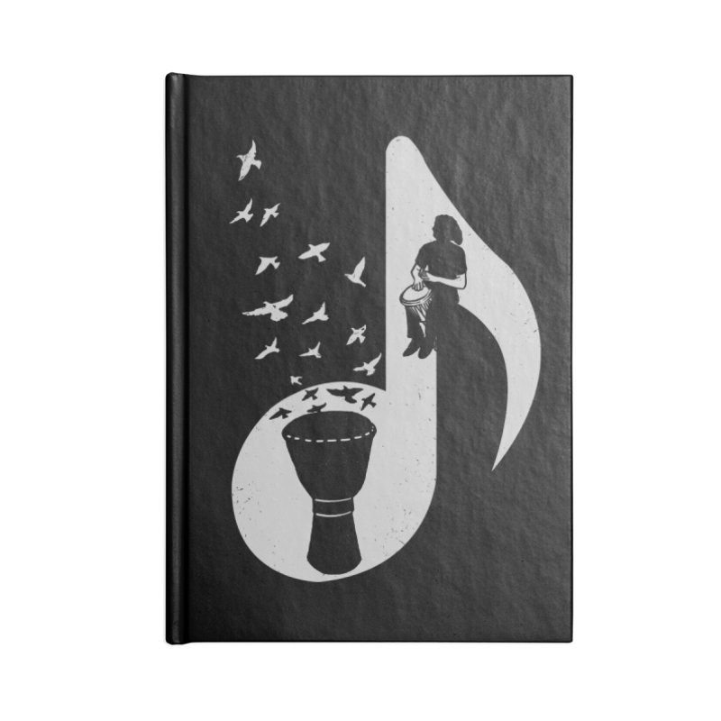 Musical - Djembe Accessories Notebook by barmalisiRTB