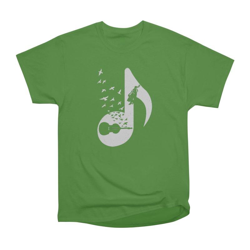 Musical - Double Bass Women's Classic Unisex T-Shirt by barmalisiRTB