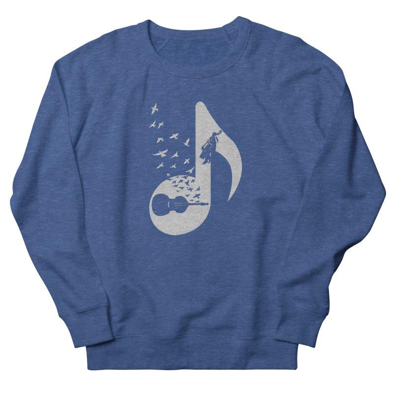 Musical - Double Bass Men's Sweatshirt by barmalisiRTB