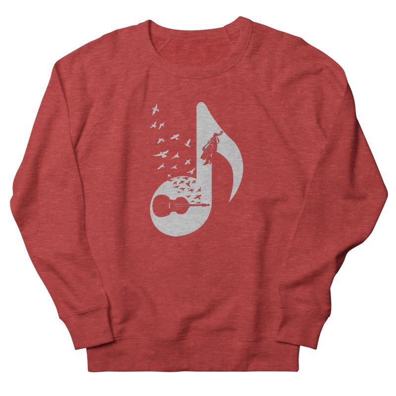 Musical - Double Bass Men's Sweatshirt by barmalisiRTB