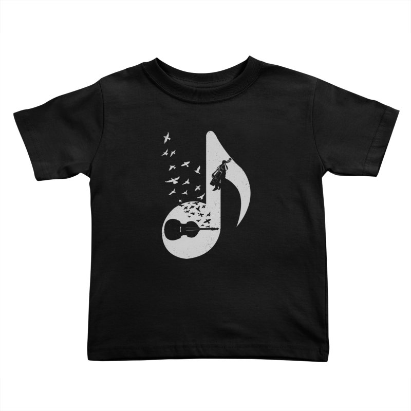 Musical - Double Bass Kids Toddler T-Shirt by barmalisiRTB