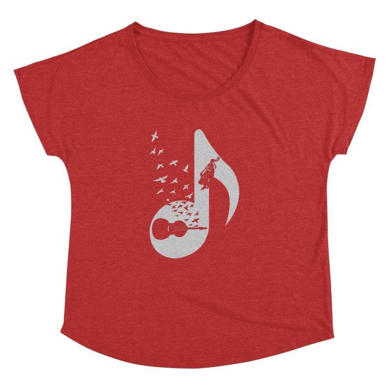 Musical - Double Bass Women's Dolman by barmalisiRTB