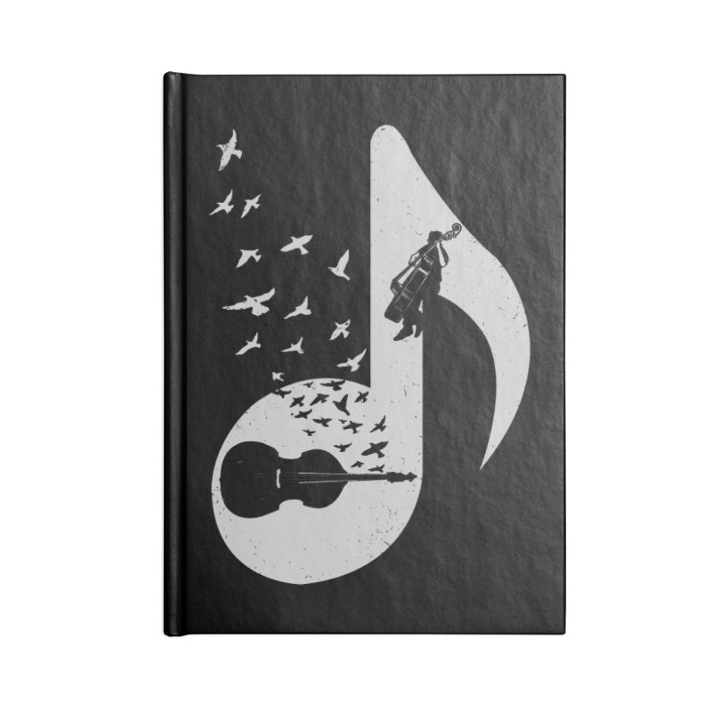 Musical - Double Bass Accessories Notebook by barmalisiRTB