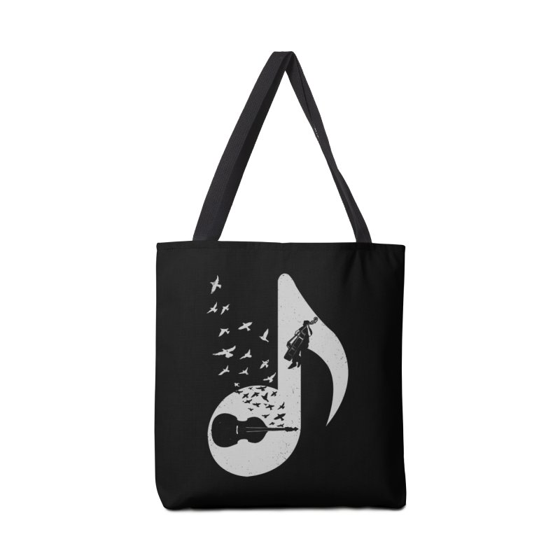 Musical - Double Bass Accessories Bag by barmalisiRTB