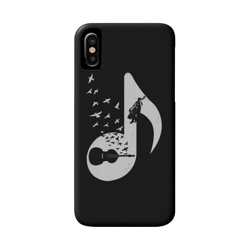 Musical - Double Bass Accessories Phone Case by barmalisiRTB