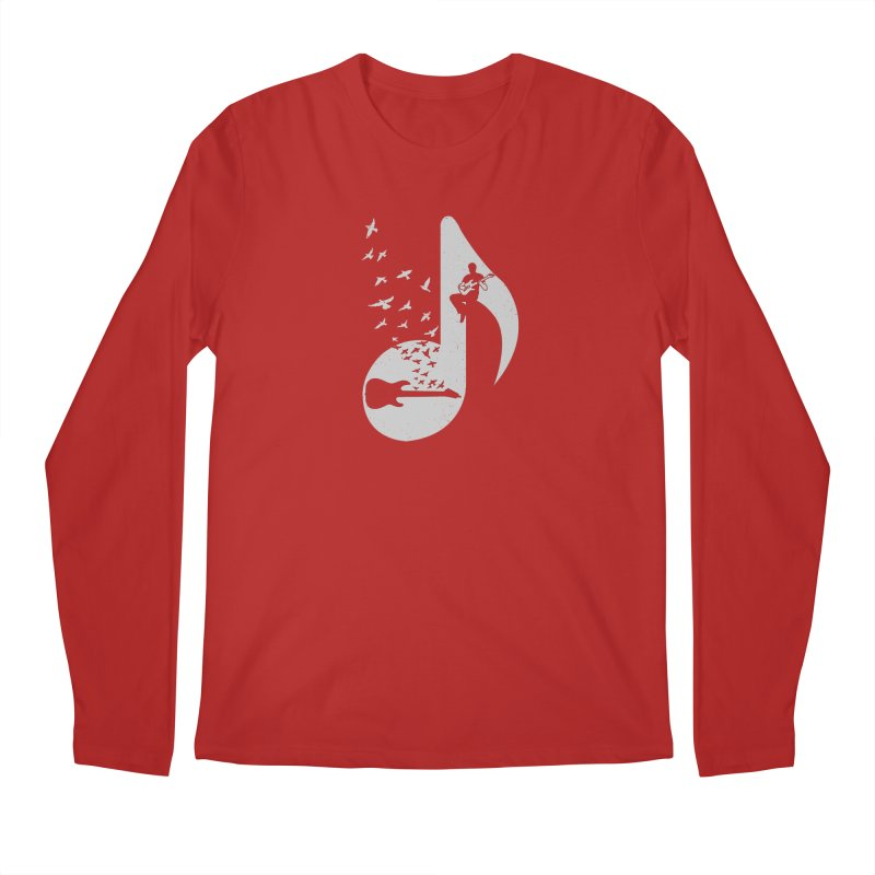 Musical - Electric Guitar Men's Longsleeve T-Shirt by barmalisiRTB