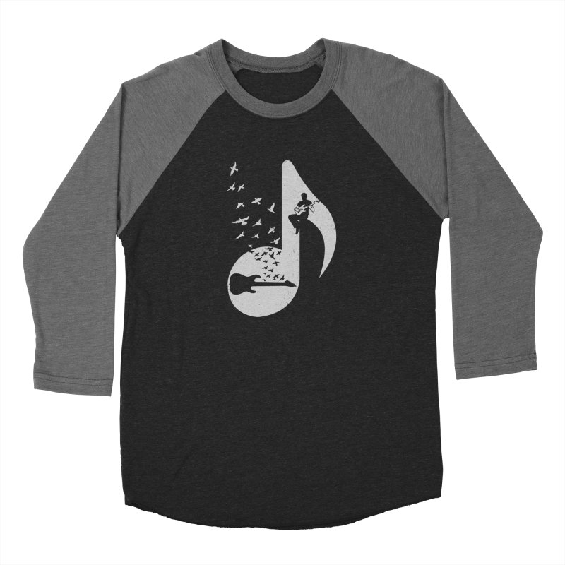 Musical - Electric Guitar Men's Baseball Triblend T-Shirt by barmalisiRTB