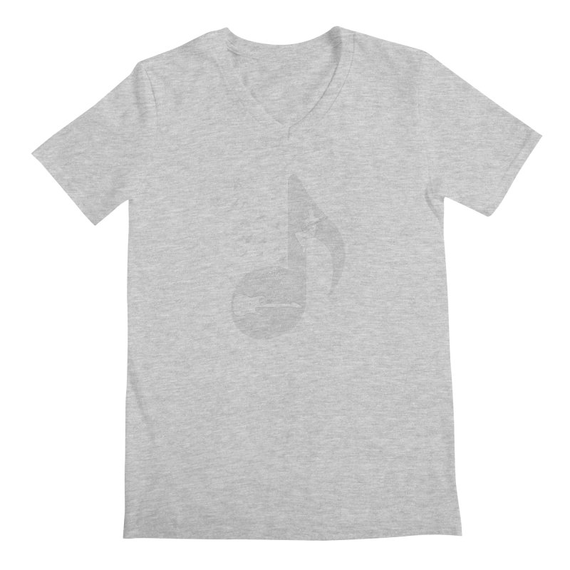 Musical - Electric Guitar Men's V-Neck by barmalisiRTB