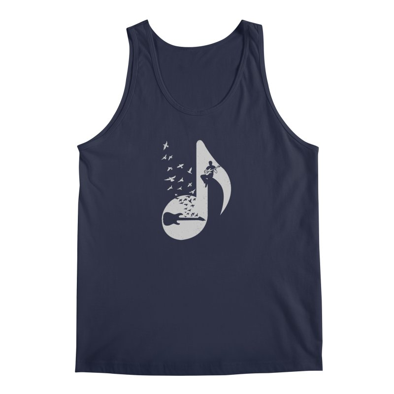 Musical - Electric Guitar Men's Tank by barmalisiRTB