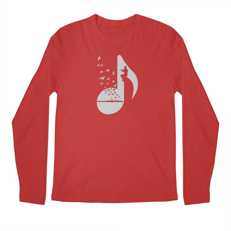 Musical - Flute Men's Longsleeve T-Shirt by barmalisiRTB