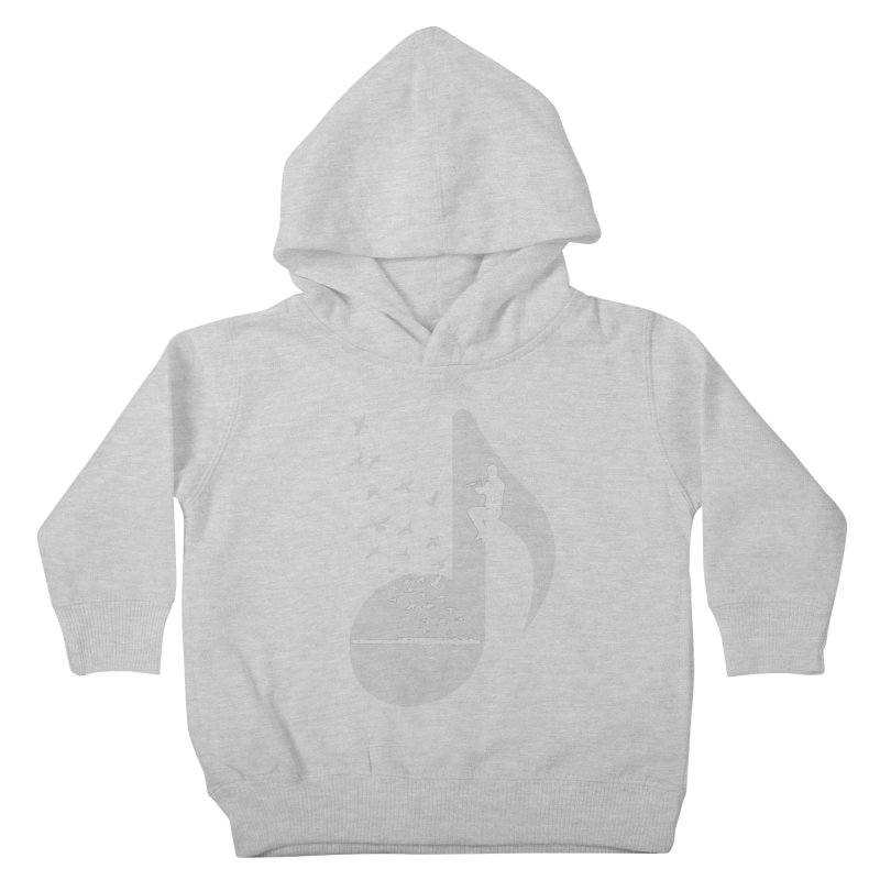 Musical - Flute Kids Toddler Pullover Hoody by barmalisiRTB