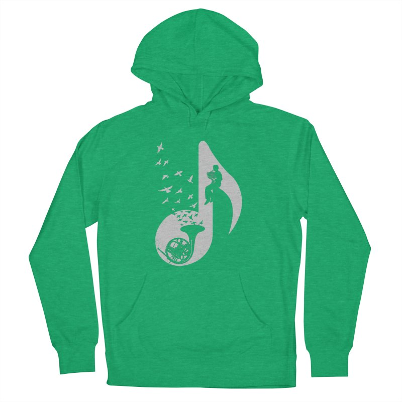 Musical - French Horn Women's Pullover Hoody by barmalisiRTB