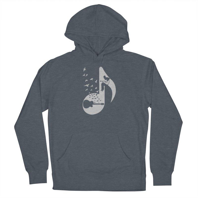 Musical - Guitar Men's Pullover Hoody by barmalisiRTB