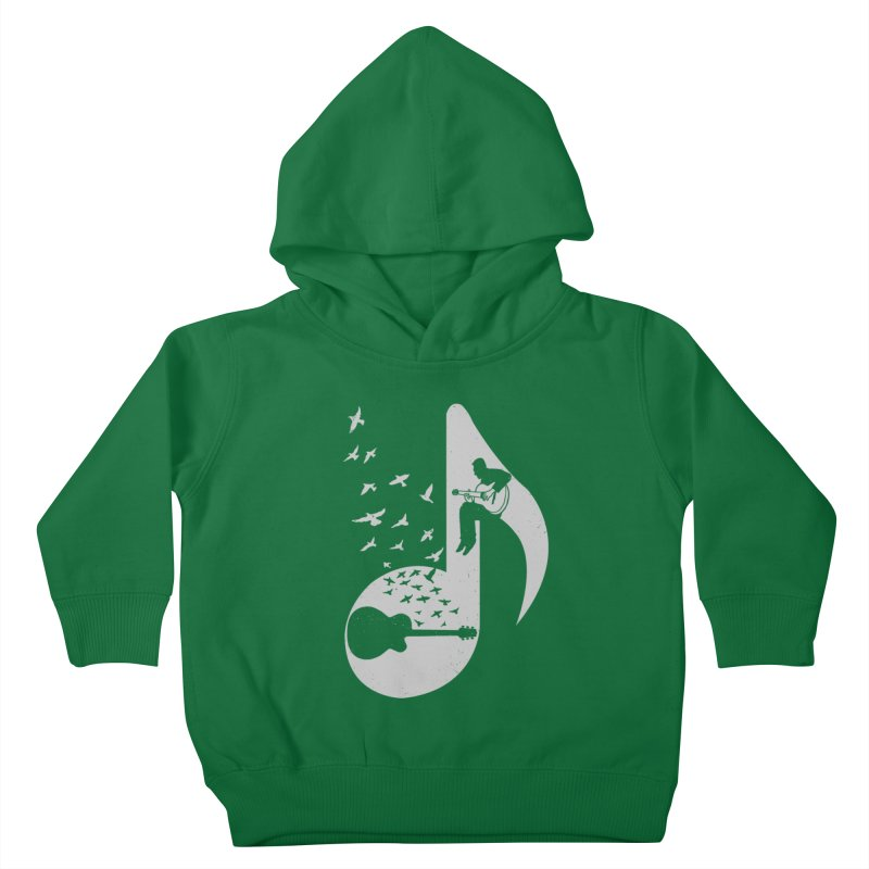 Musical - Guitar Kids Toddler Pullover Hoody by barmalisiRTB
