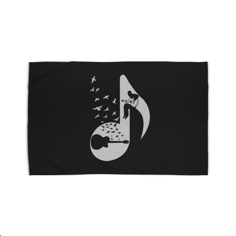 Musical - Guitar Home Rug by barmalisiRTB