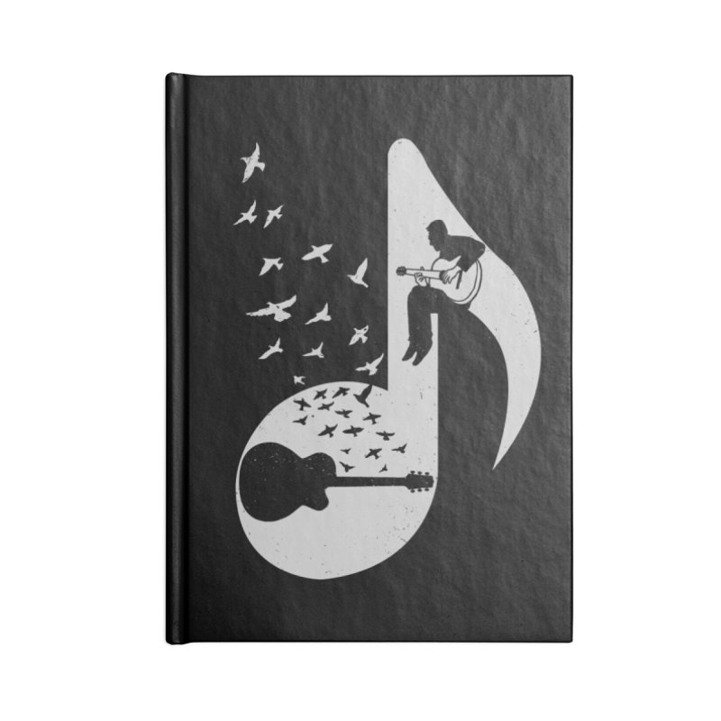 Musical - Guitar Accessories Notebook by barmalisiRTB