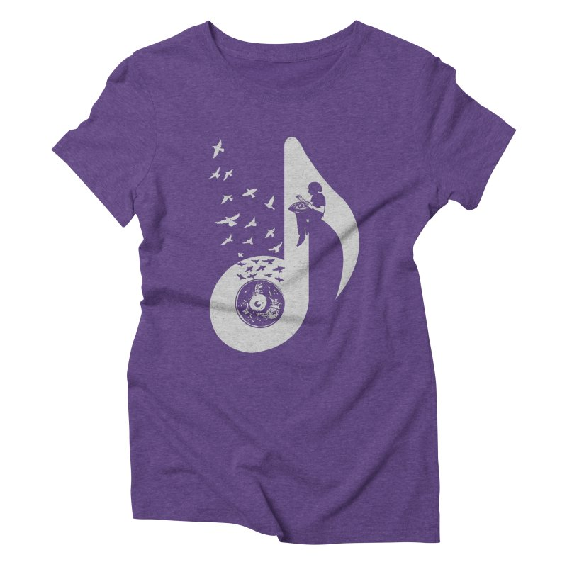 Musical - Hang Drum Women's Triblend T-shirt by barmalisiRTB