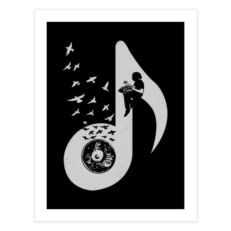 Musical - Hang Drum Home Fine Art Print by barmalisiRTB