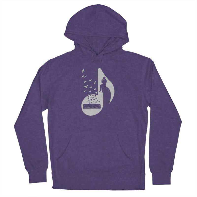 Musical - Harmonica Women's Pullover Hoody by barmalisiRTB
