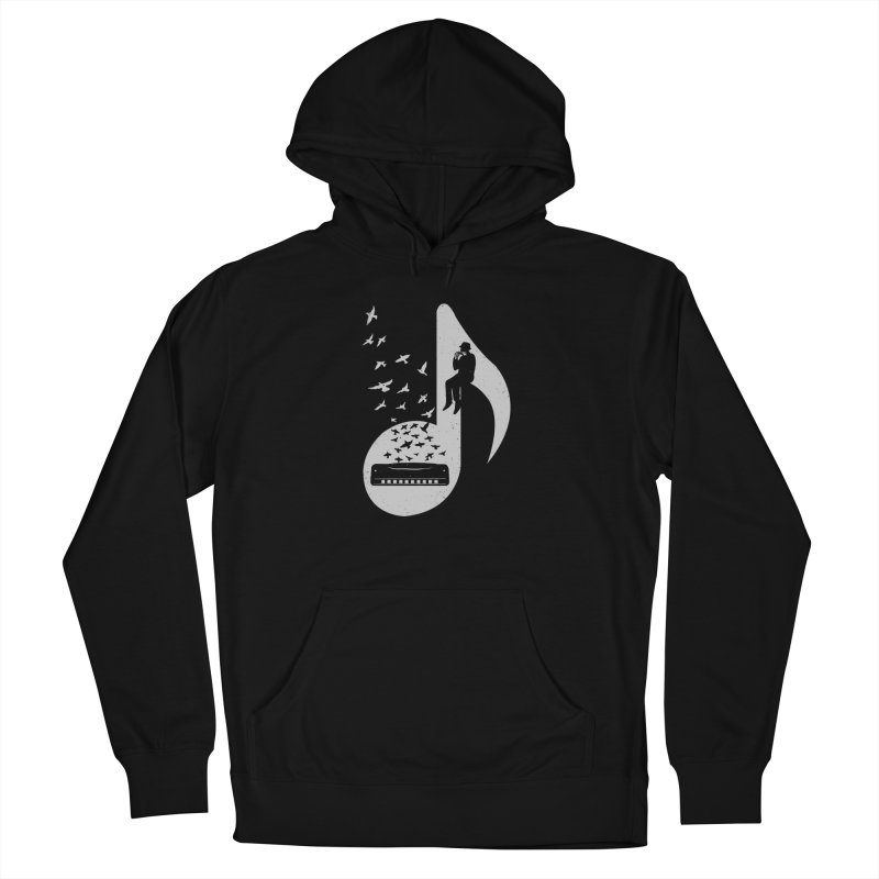 Musical - Harmonica Men's Pullover Hoody by barmalisiRTB