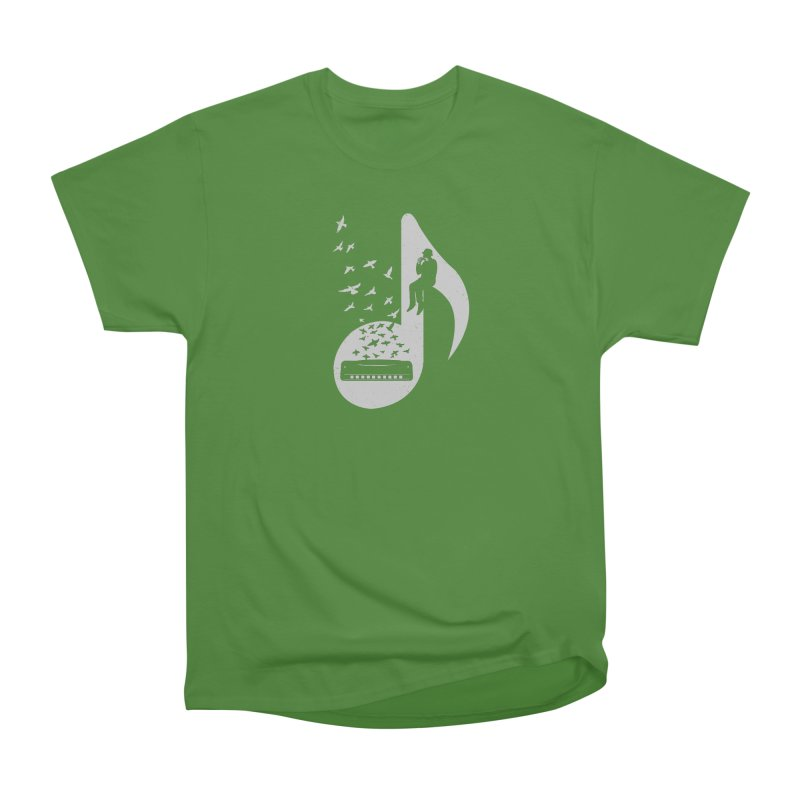 Musical - Harmonica Women's Classic Unisex T-Shirt by barmalisiRTB