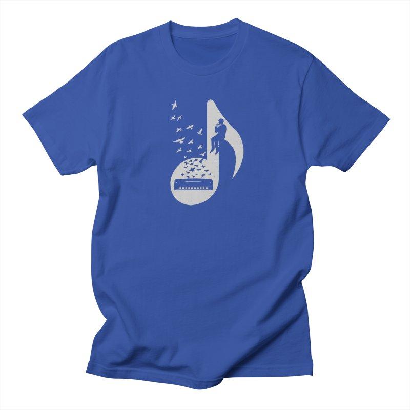 Musical - Harmonica Men's T-shirt by barmalisiRTB