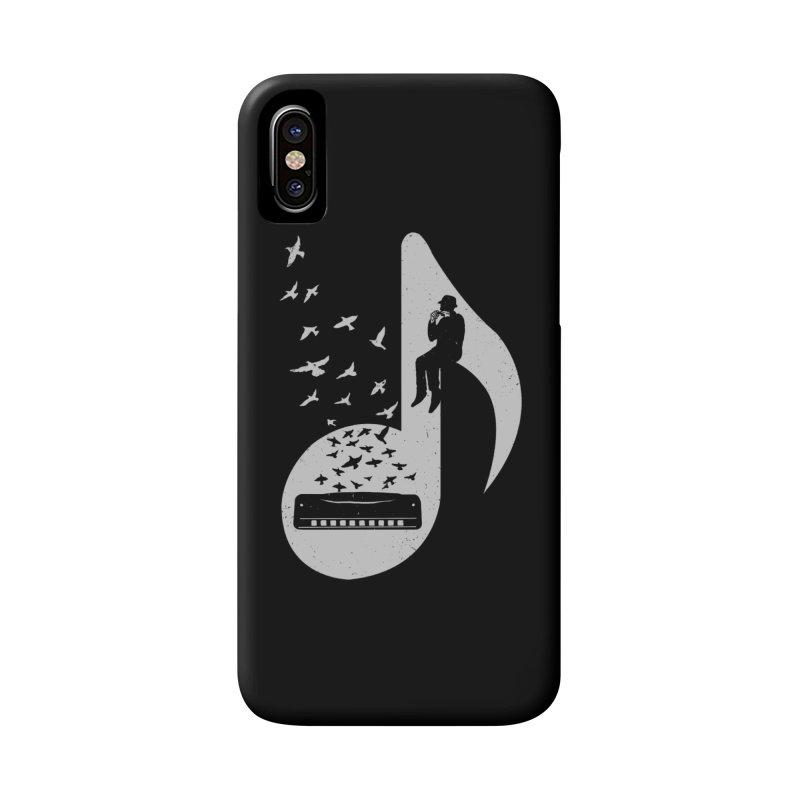 Musical - Harmonica Accessories Phone Case by barmalisiRTB