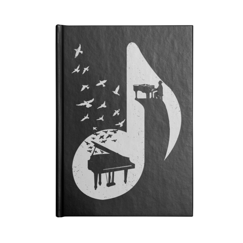 Musical - Piano Accessories Notebook by barmalisiRTB