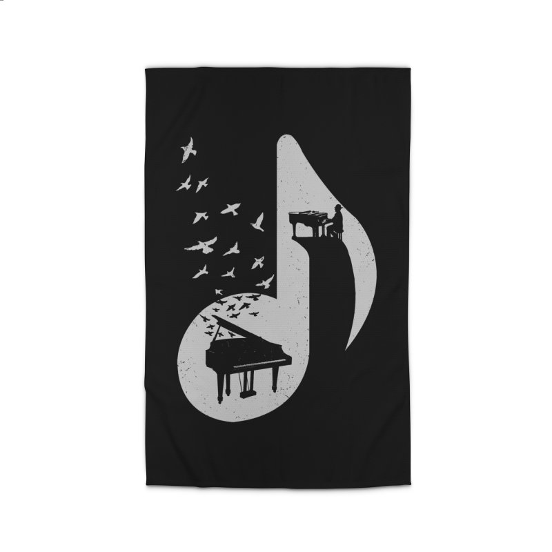 Musical - Piano Home Rug by barmalisiRTB