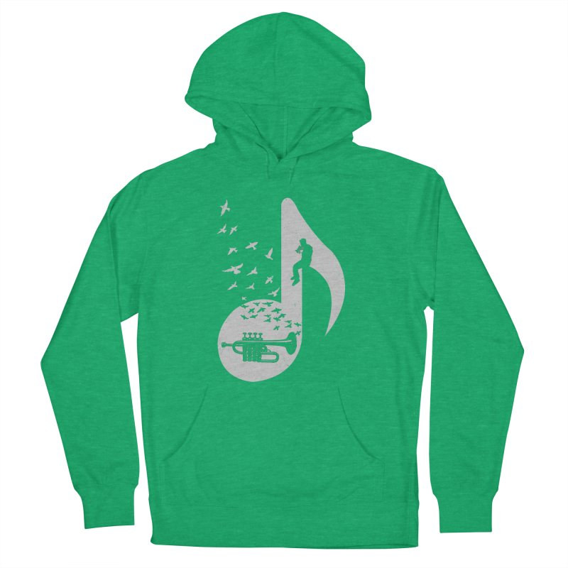 Musical - Piccolo Trumpet Women's Pullover Hoody by barmalisiRTB