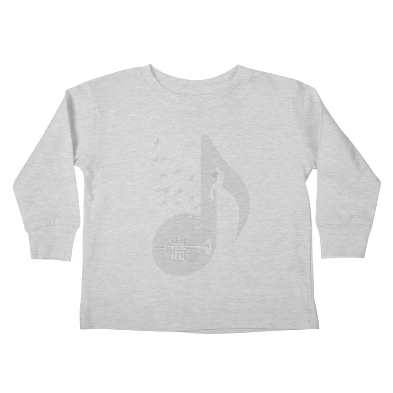 Musical - Piccolo Trumpet Kids Toddler Longsleeve T-Shirt by barmalisiRTB