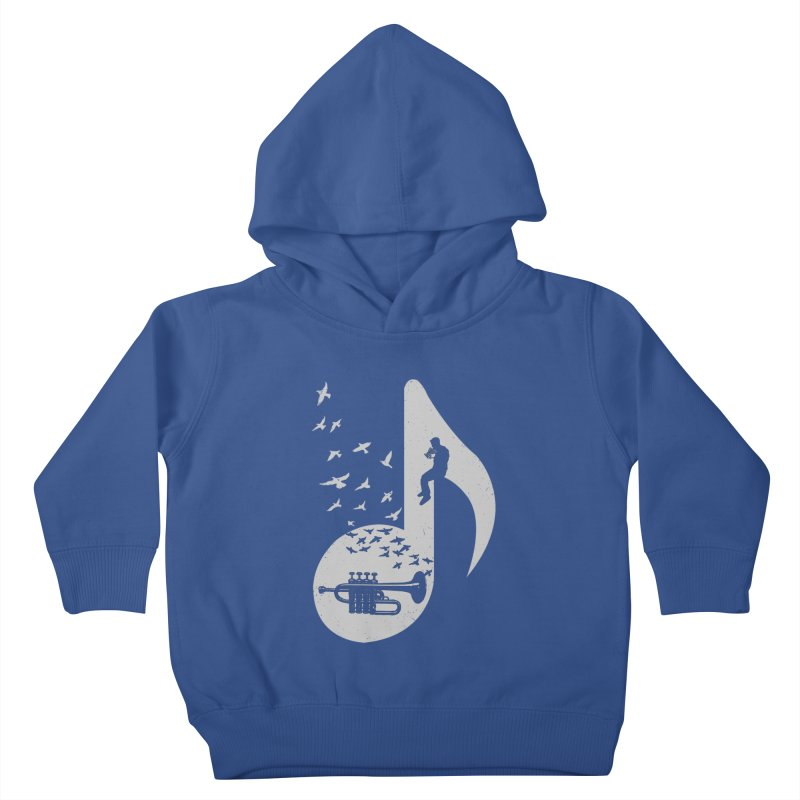 Musical - Piccolo Trumpet Kids Toddler Pullover Hoody by barmalisiRTB