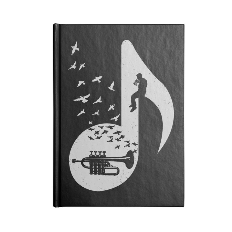 Musical - Piccolo Trumpet Accessories Notebook by barmalisiRTB
