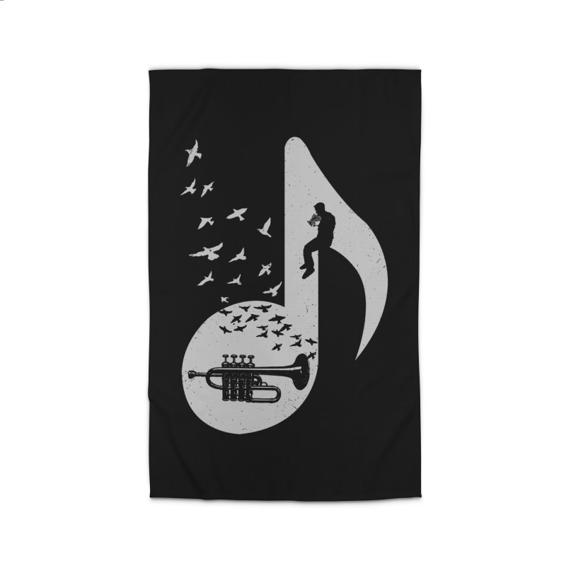 Musical - Piccolo Trumpet Home Rug by barmalisiRTB