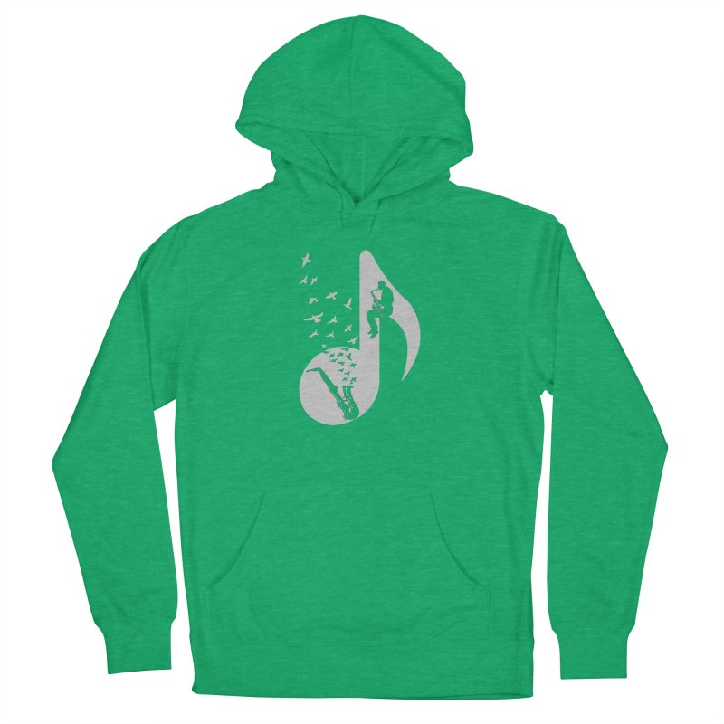 Musical - Saxophone Women's Pullover Hoody by barmalisiRTB