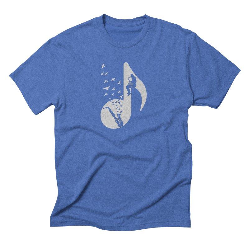 Musical - Saxophone Men's T-Shirt by barmalisiRTB