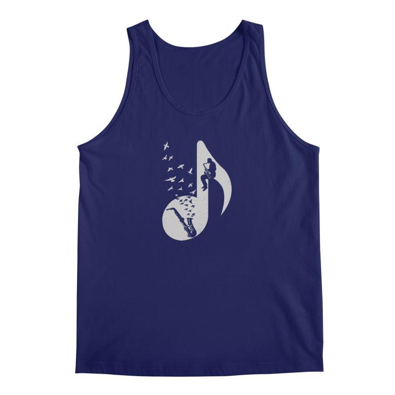 Musical - Saxophone Men's Regular Tank by barmalisiRTB