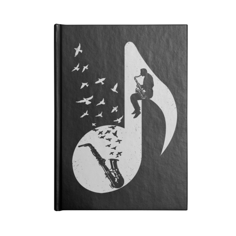 Musical - Saxophone Accessories Notebook by barmalisiRTB