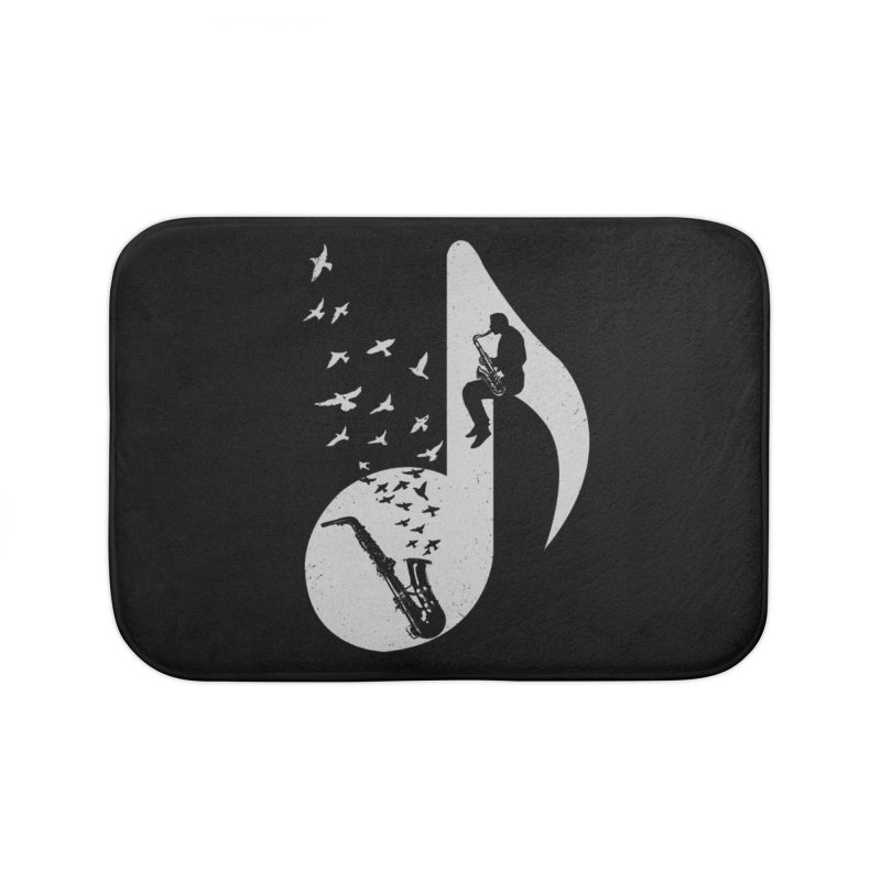 Musical - Saxophone Home Bath Mat by barmalisiRTB